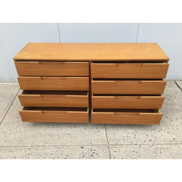 Image of Edward Wormley for Dunbar 8 Drawer Dresser