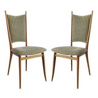 Pair Italian Side Chairs