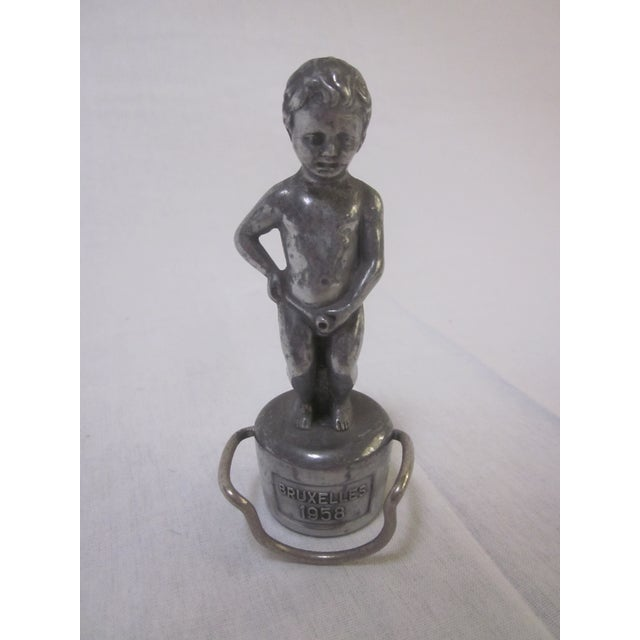 Image of Vintage Cherub Bottle Topper
