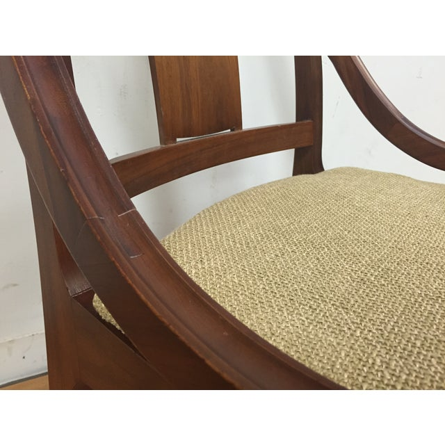 Glenn of California Mid Century Walnut Chair - Image 9 of 11