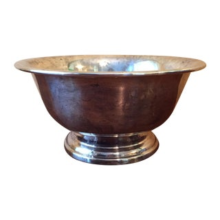 Poole Silver Plated Footed Bowl