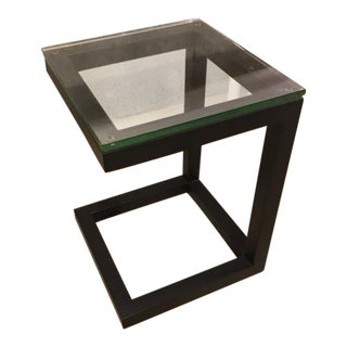 Crate & Barrel Parsons End Table