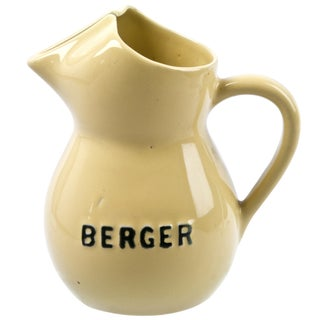 French Berger Ceramic Water Pitcher