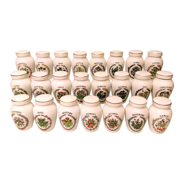 Franklin Mint Spice Jars - Set of 23 - Image 1 of 11