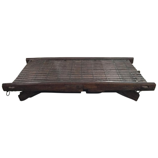 Indian Ox-Cart Daybed - Image 1 of 8