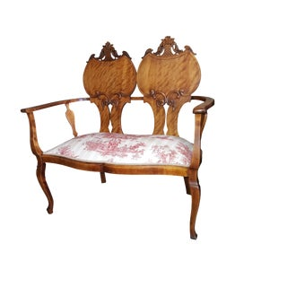 19th Century Antique French Settee