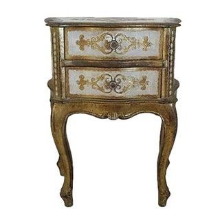 Italian Florentine Nightstand
