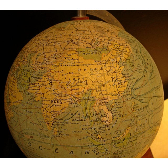 A Illuminated French Terrestial Globe - Image 6 of 8