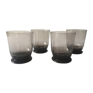 Moser Mozart Old Fashioned Crystal Glasses - S/4