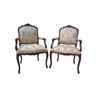 French Arm Chairs - a Pair