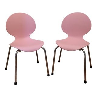 DWR Molded Plastic Chairs - A Pair