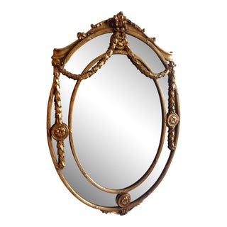 Gold French Louis XVI Mirror