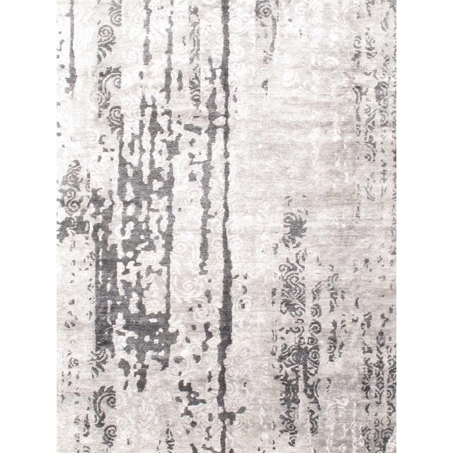 "Image of Gray Modern Bamboo Rug - 9'2"" X 12'0"""