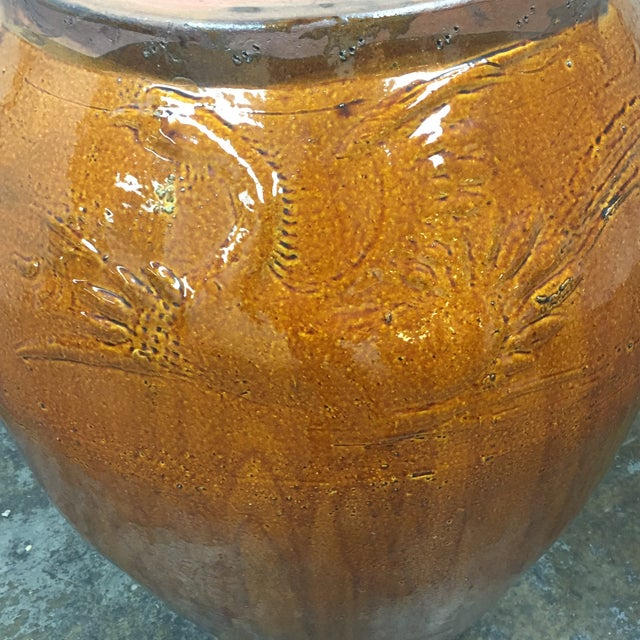Image of Large Glazed Finish Pottery