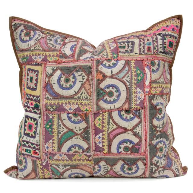 Chakra Tribal Jaisalmer Pillow - Image 1 of 2