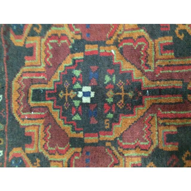 Vintage Balluchi Persian Rug - 1'8 x 1'11 - Image 6 of 10