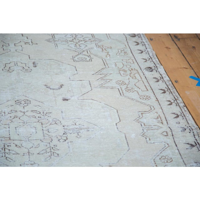 "Distressed Oushak Rug - 4'8"" X 7'5"" - Image 5 of 10"