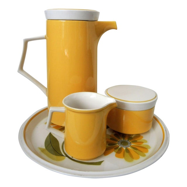 Vintage Mikasa Coffee Set with Platter - Image 2 of 9
