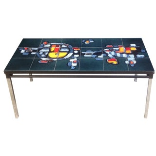 Mid-Century Tile-Top Table