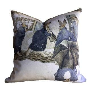Beatrix Potter Velvet Bunny Pillow