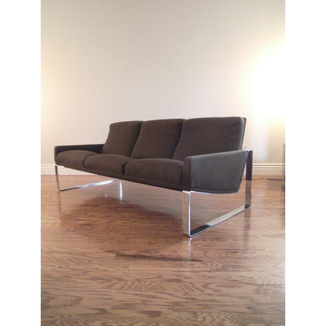 Mid-Century Modern Milo Baughman Sofa - Image 2 of 8