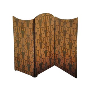 Folding Screen - Art Deco 3-Panel