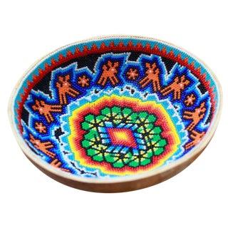 Huichol Ceremonial Beaded Bowl
