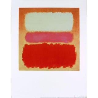 "Mark Rothko ""White Cloud Over Purple"" 1995 Poster"