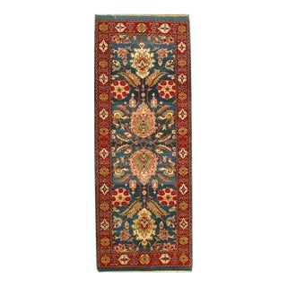 "Pasargad NY Agra Hand-Knotted Rug - 3'2"" x 8'5"""