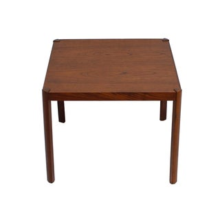 Danish Modern Teak Petite Accent Table