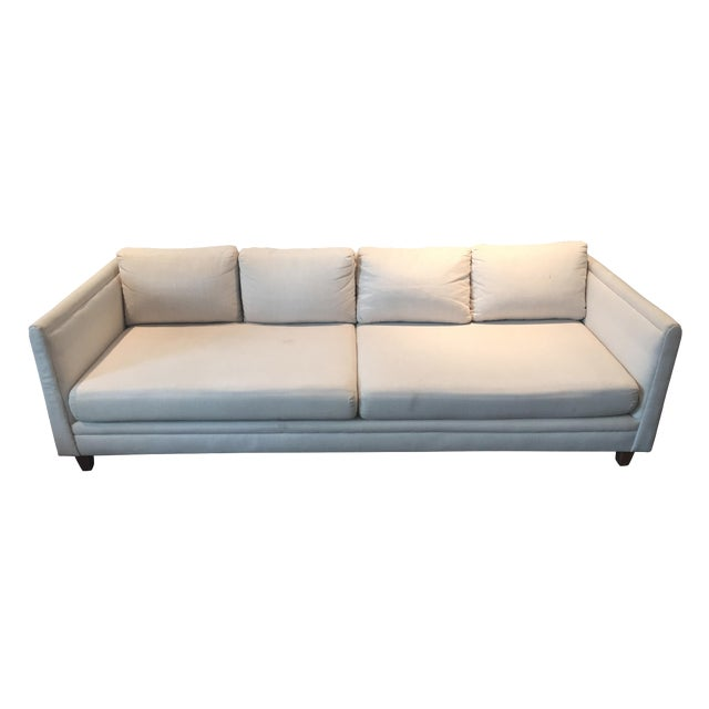 Baker Furniture Mid-Century Off-White Couch - Image 1 of 9
