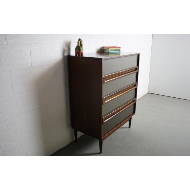 bassett furniture mid century modern custom dresser chairish