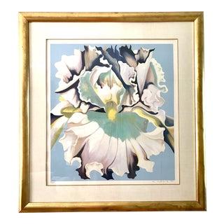 Lowell Blair Nesbitt Orchid Serigraph Signed