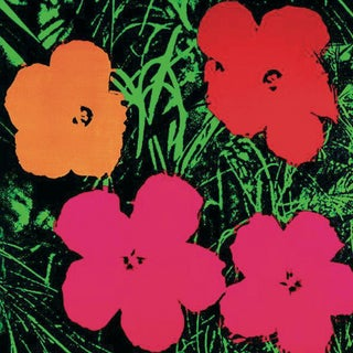 2000 Flowers Poster by Andy Warhol