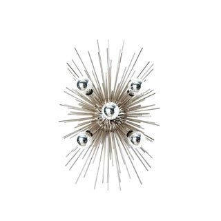 Arteriors Zanadoo Polished Nickel Sconce/ Ceiling Mount
