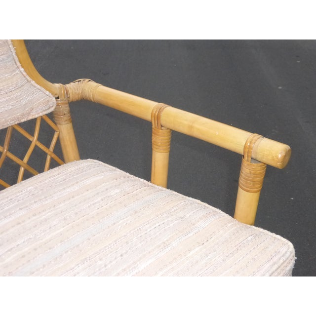 Vintage Mid Century Bamboo Chairs - A Pair - Image 10 of 10