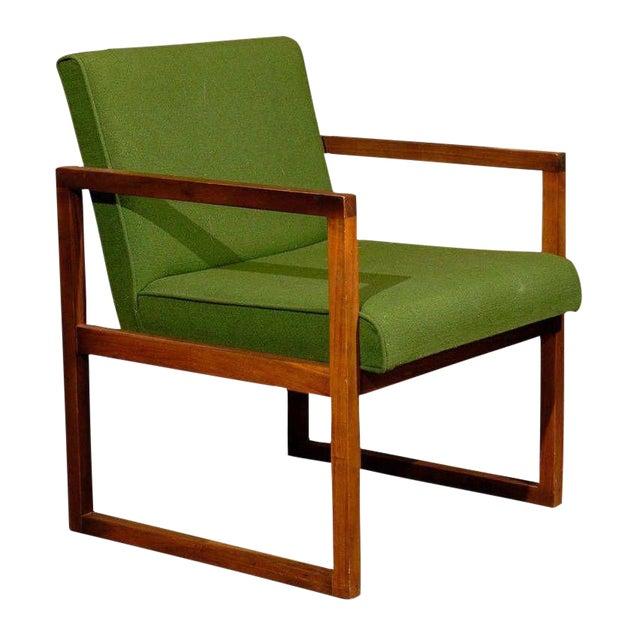 Mid-Century Teak Armchair - Image 1 of 5