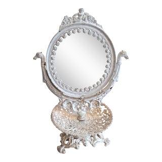 Vintage Iron Vanity Mirror