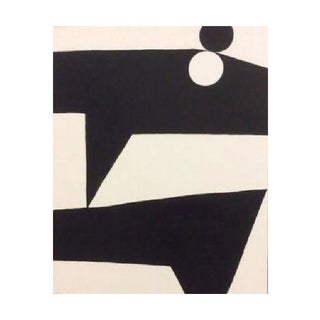 Aaron Kllc Double Boost Black & White Painting