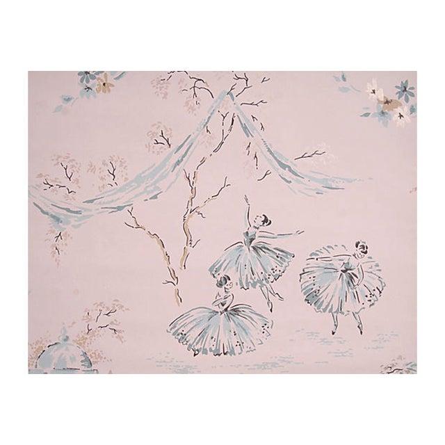 Vintage Ballerina Wallpaper - Set of 4 - Image 3 of 4