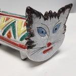 Image of Italian Bitossi Aldo Londi Style Cat Bank