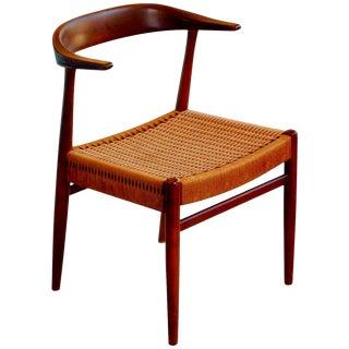 Mid-Century DUX Walnut Armchair