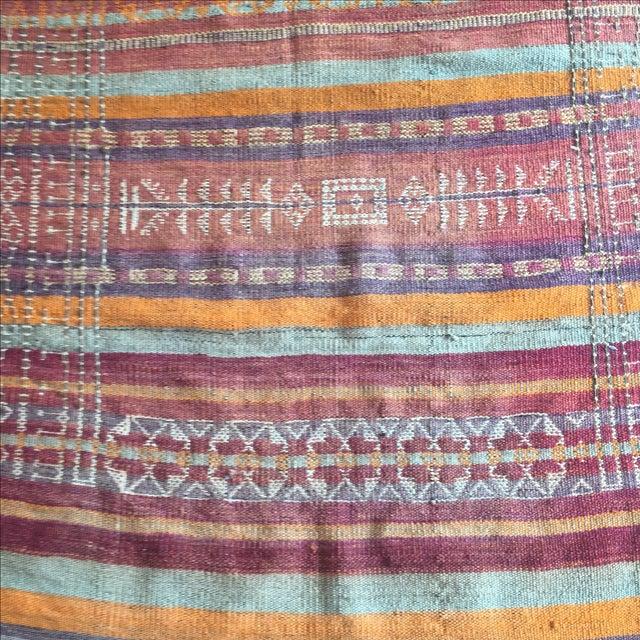 Vintage Turkish Kilim Anatolian Rug - 3′9″ × 10′4″ - Image 5 of 6