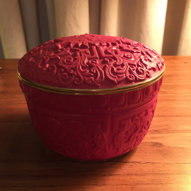 Image of l'Objet Cinnabar Candle