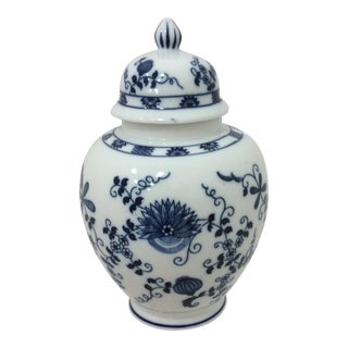 Seymour Mann Blue and White Ginger Jar