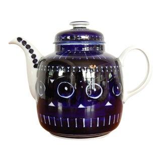 Ulla Procope Arabia Finland Valencia 8 Cup Teapot
