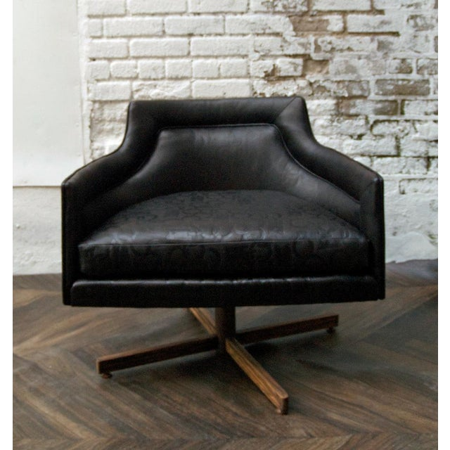 Gucci-Style Swivel Chair - Image 2 of 9