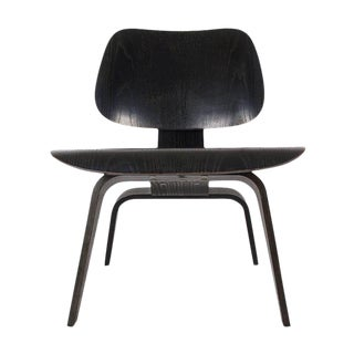 Charles Eames for Herman Miller Black LCW Lounge Chair