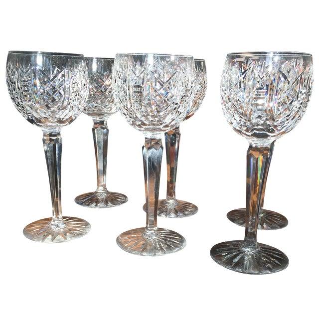 Waterford Crystal Stem Wine Hock Glasses - Image 1 of 4