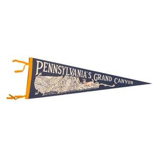 Pennsylvania's Grand Canyon Felt Flag